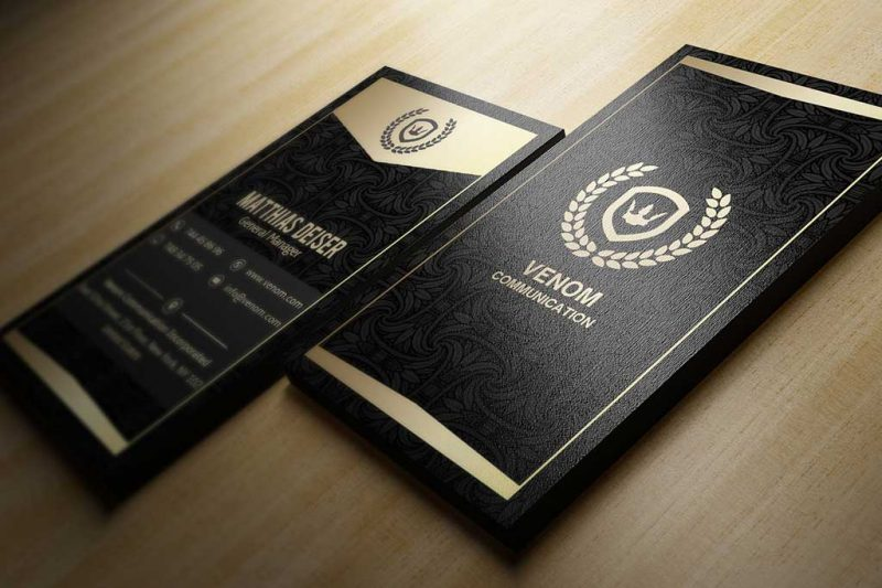 Business Cards Glossy UV Coated
