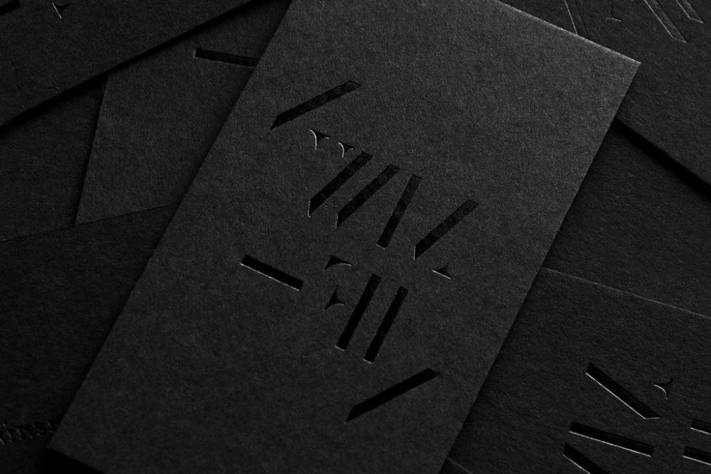 Business Cards Matte Spot UV
