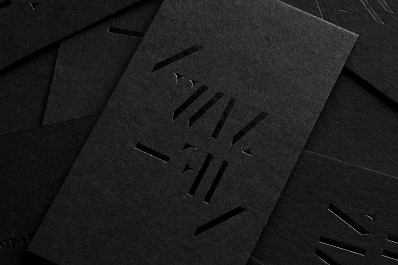 Business Cards Matte Spot UV