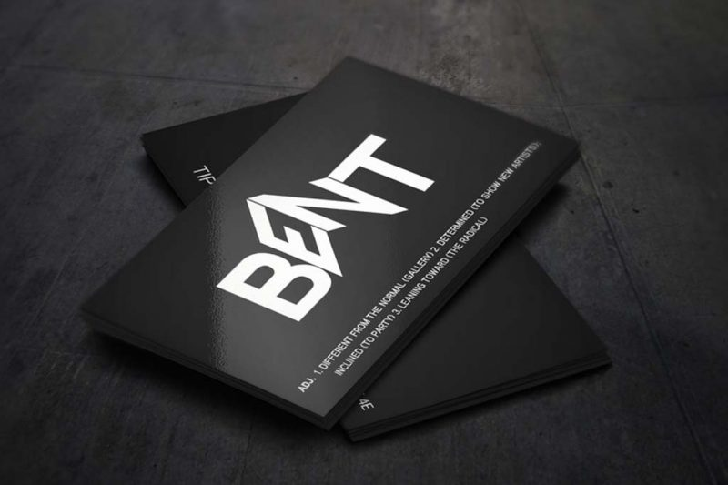 Business Cards Spot UV