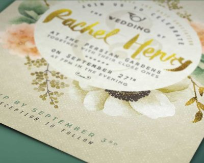 Gold Foil | Printing Brooklyn