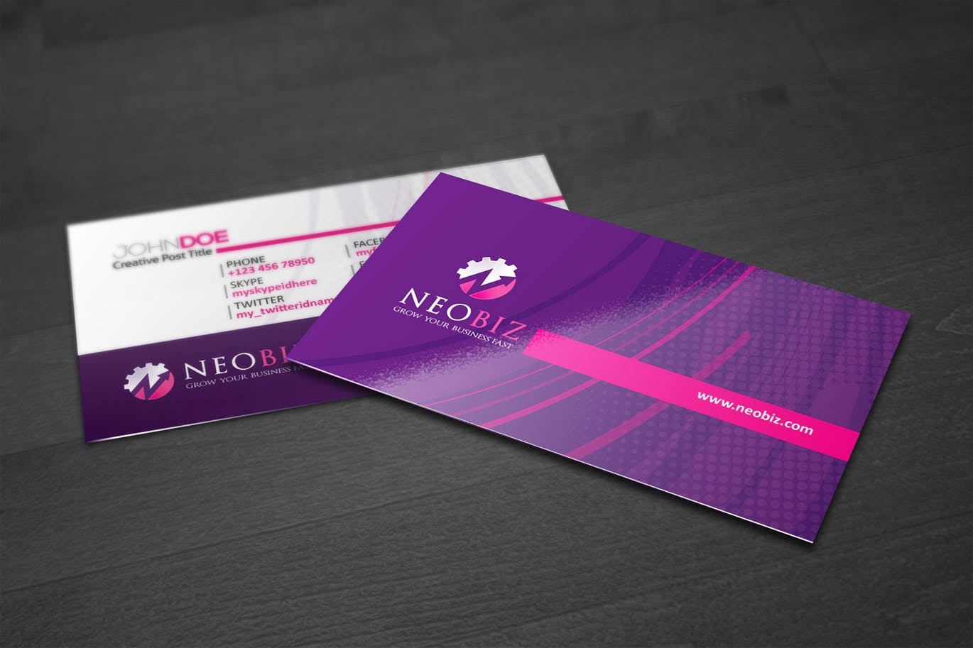 Gloss Laminated Business Cards | Printing Brooklyn | Printing in NYC