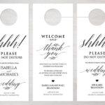 Do Not Disturb Door Hangers | Printing Brooklyn