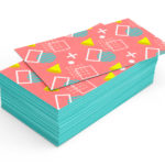 Edge Painted Cards
