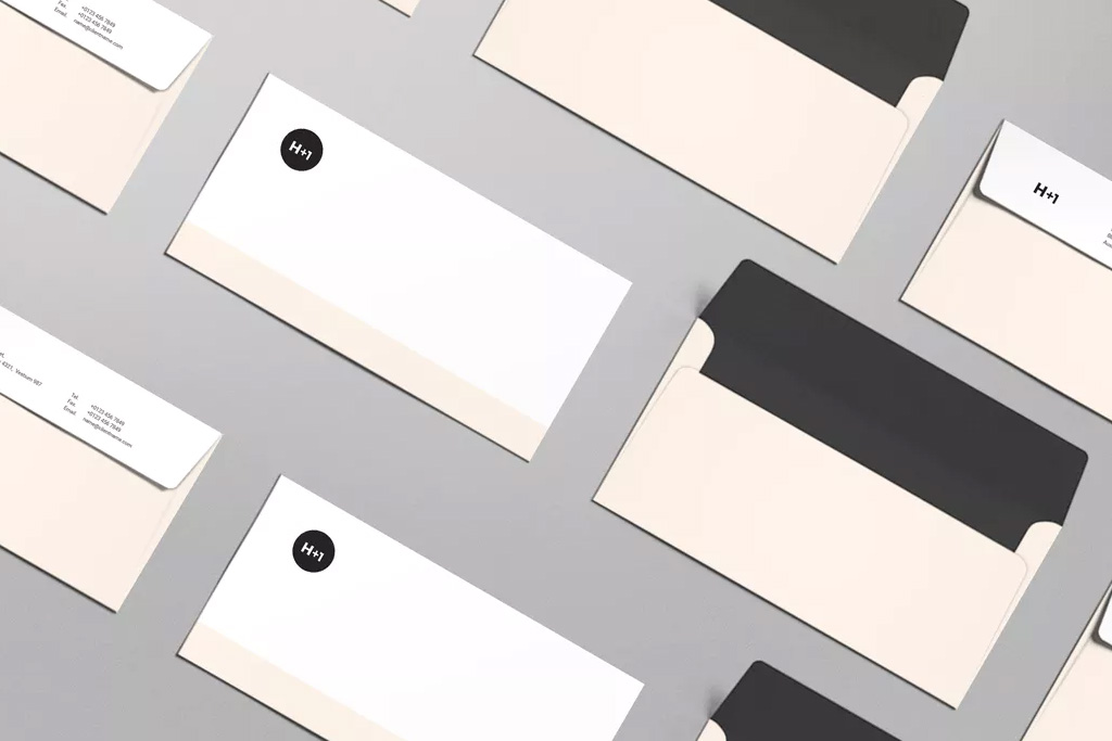 Envelopes | Gray and Pink