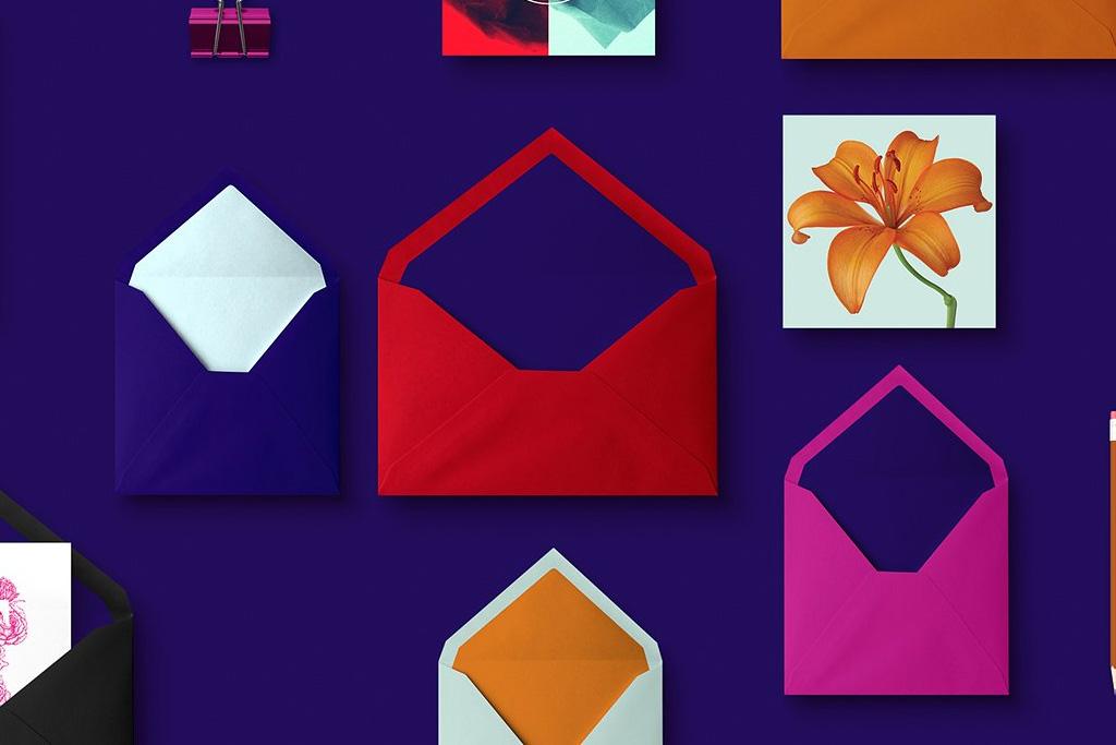 Envelopes | Blue