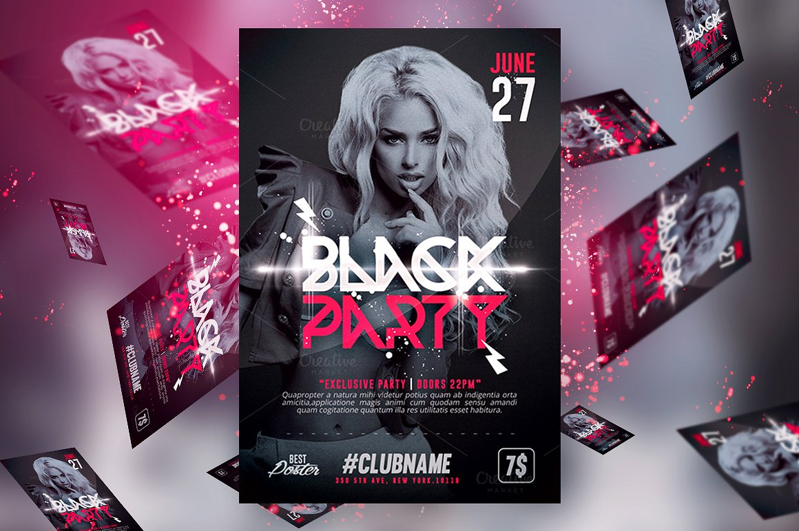 Club Flyer Designs | Printing Brooklyn