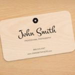 Frosted Plastic Business Card | Printing Brooklyn