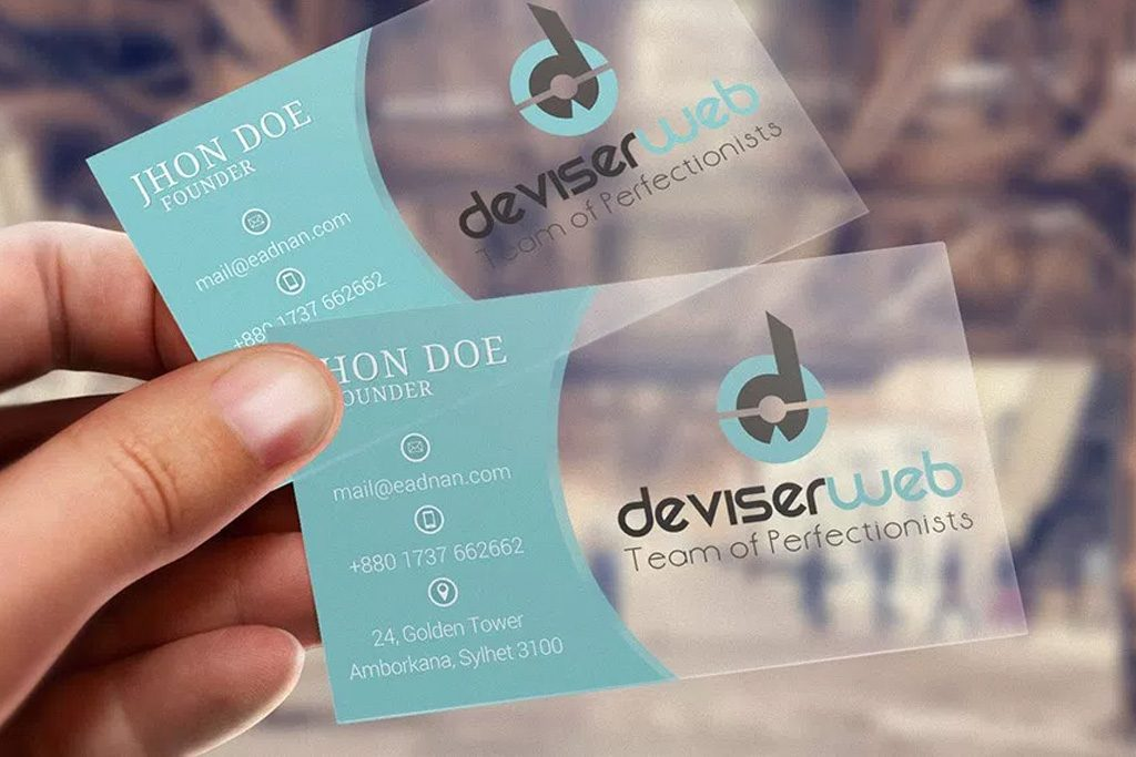 Frosted Business Cards | Printing Brooklyn
