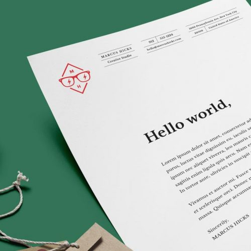 Letterheads | Footer