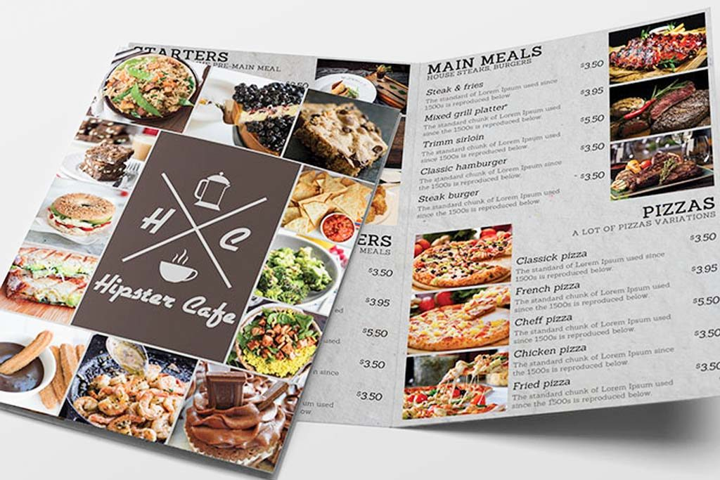 Restaurant Menus | Printing Brooklyn