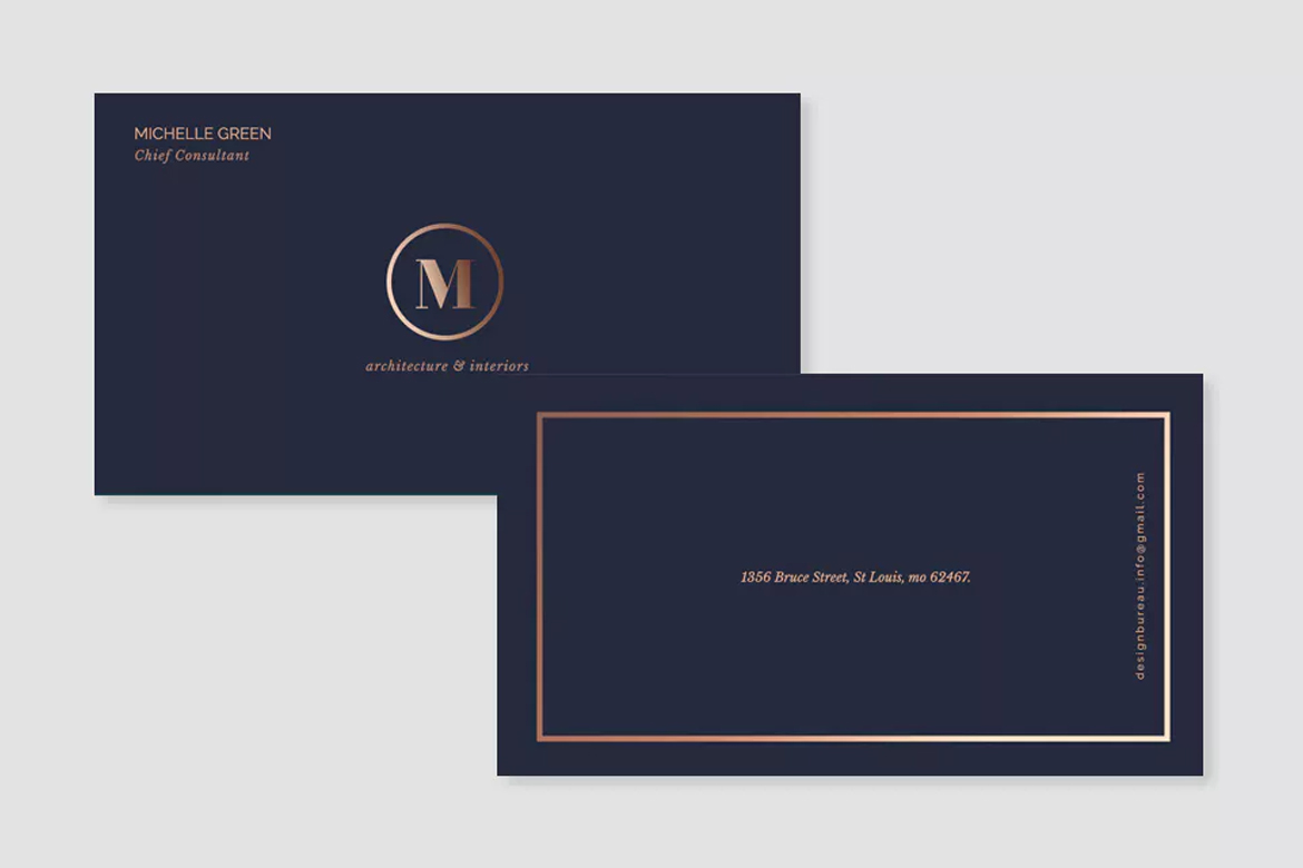 Metallic Printing Cards | Printing Brooklyn