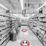 Social Distancing Floor Stickers 2